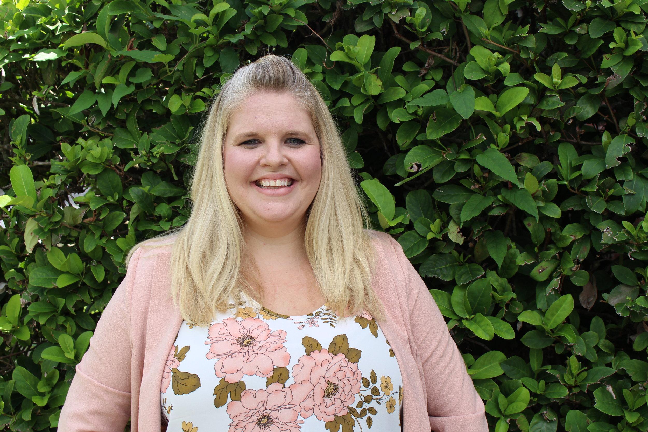 Rachelle Shaw  Director of Children's Ministries