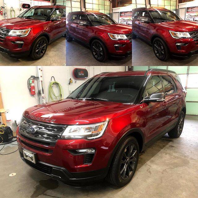 A very nice Ford Explorer came in for LLumar Window tint and looks great! Thanks for trusting us!  Veteran Owned and Veteran Operated  Call us for your tinting needs!  910-506-8468 (TINT) www.InvictusAA.com  @llumarcanada @llumarfilms @ford @ford_explorer_club #vetrepreneur @veteranwealthpartners #veteranownedbusiness #veteranownedandoperated @crownford_fayetteville_nc @lafayettefordlincoln
