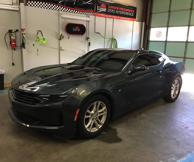 Check out this awesome Chevrolet Camaro that stopped in for full Ceramic LLumar Window Film. This is the best way to protect your interior and occupants as 99% of harmful UVA/UVB rays are blocked. Thank you for bringing this by!  Veteran Owned and Veteran Operated! Call us for your window tinting needs.  910-506-8468 (TINT) www.InvictusAA.com  @camaro.family #veteranowned #vetrepreneur #veteranownedbusiness #veteranownedandoperated #veteranownedsmallbusiness