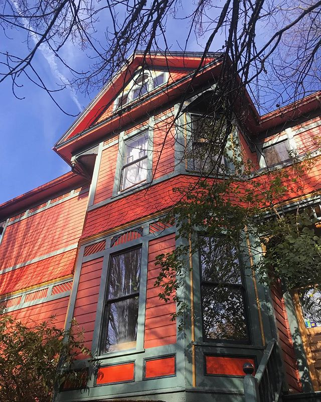 Portland vibes ♥️ #IssaThing #Colorful #Victorian #Architecture #PDX #Belmont #Home