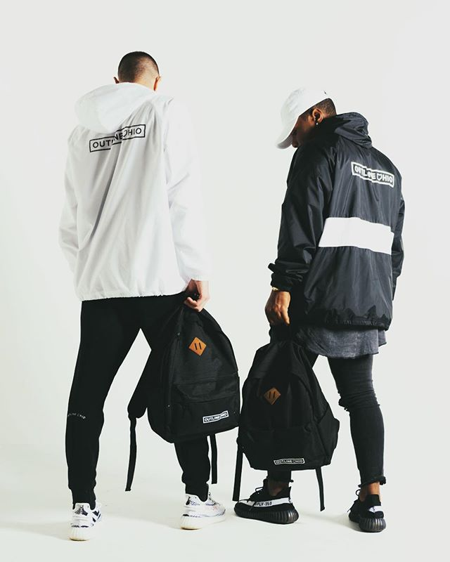 Stay Wavy Windbreakers are almost sold out. Go shop now outlineohio.com Black hats are restocked Black joggers are restocked  Follow one of our ambassadors to get a 10% off code.