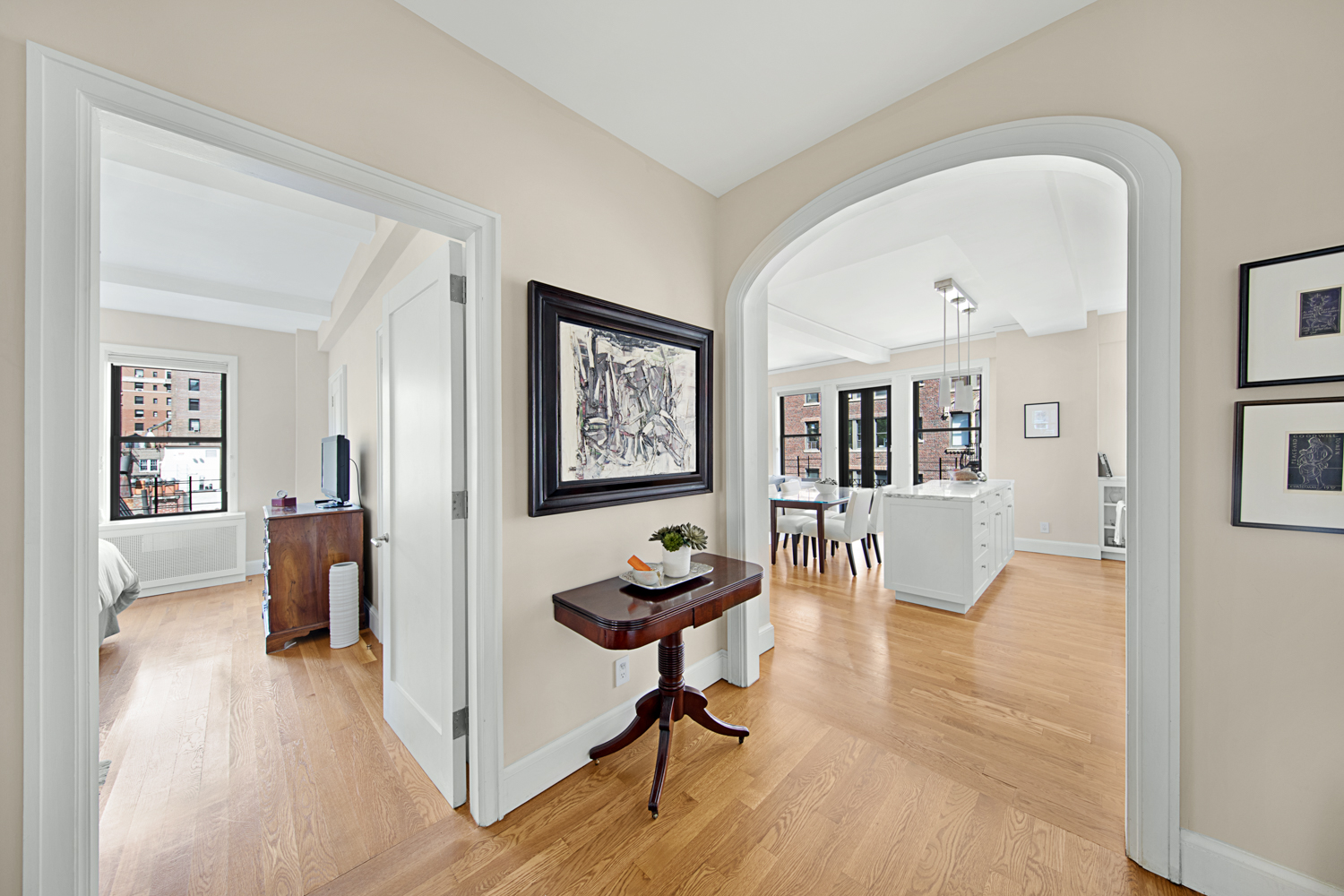 Living Room, Residence in Greenwich Village NYC
