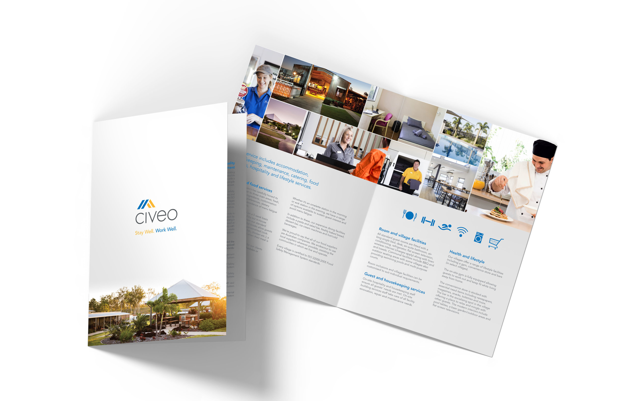 Civeo Brochure Sample  - Frankly Creating