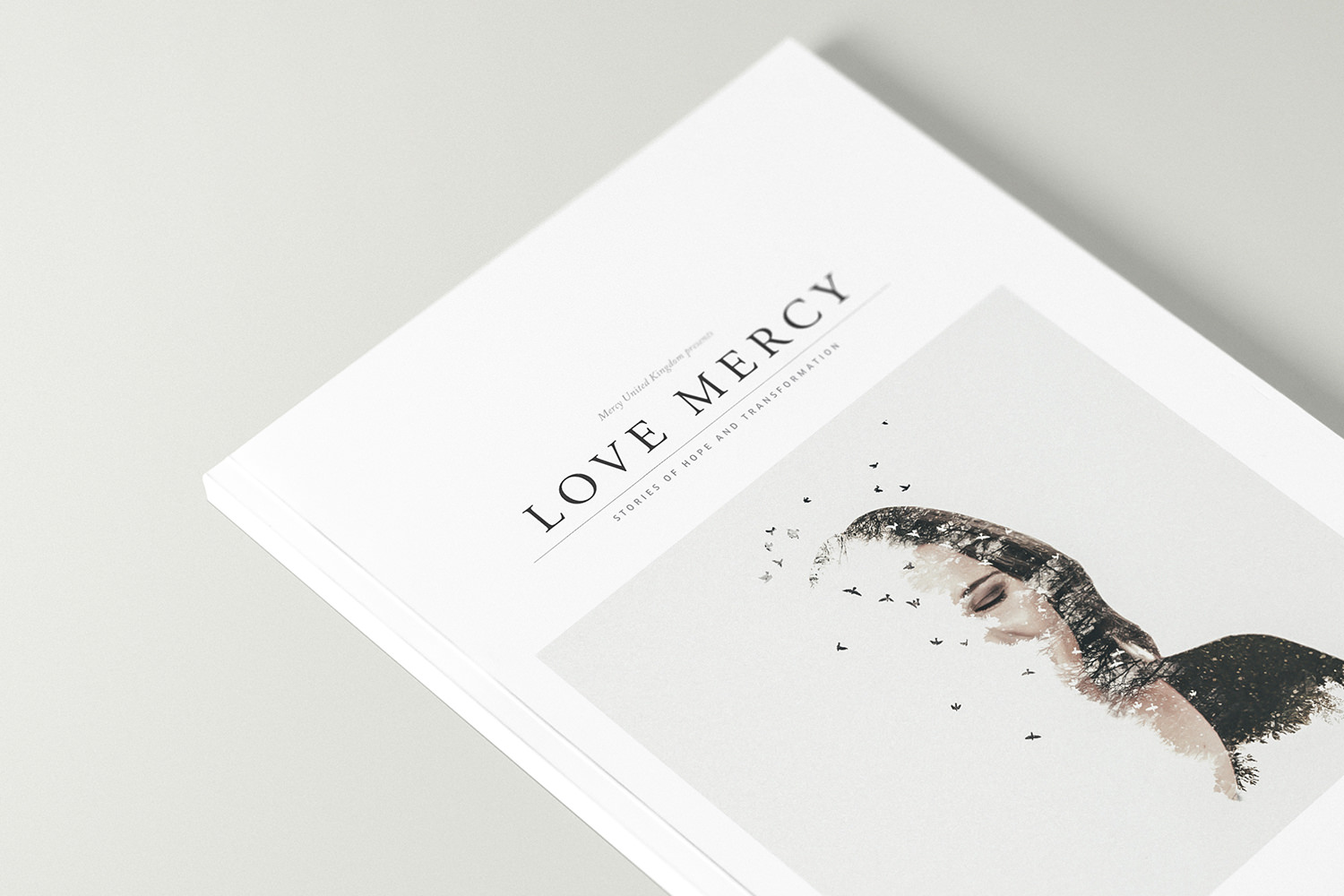 'Love Mercy' is our book celebrating ten years of seeing lives transformed and hope restored through our residential home. -