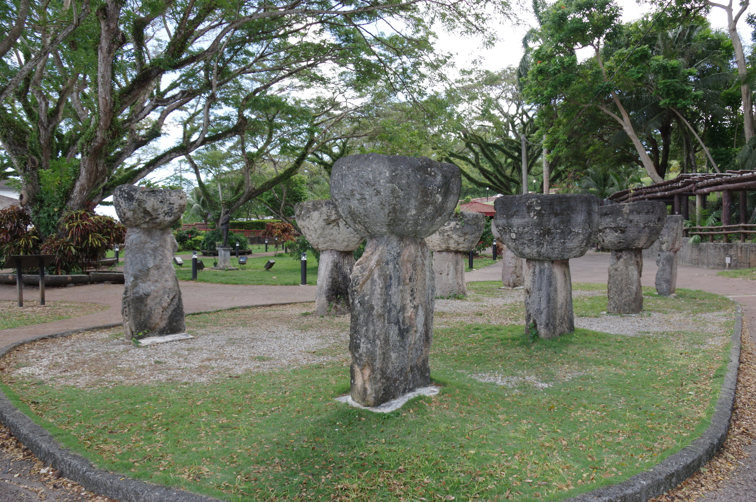 Senator Angel Leon Guerrero Santos Latte Stone Memorial Park, Hagatna
