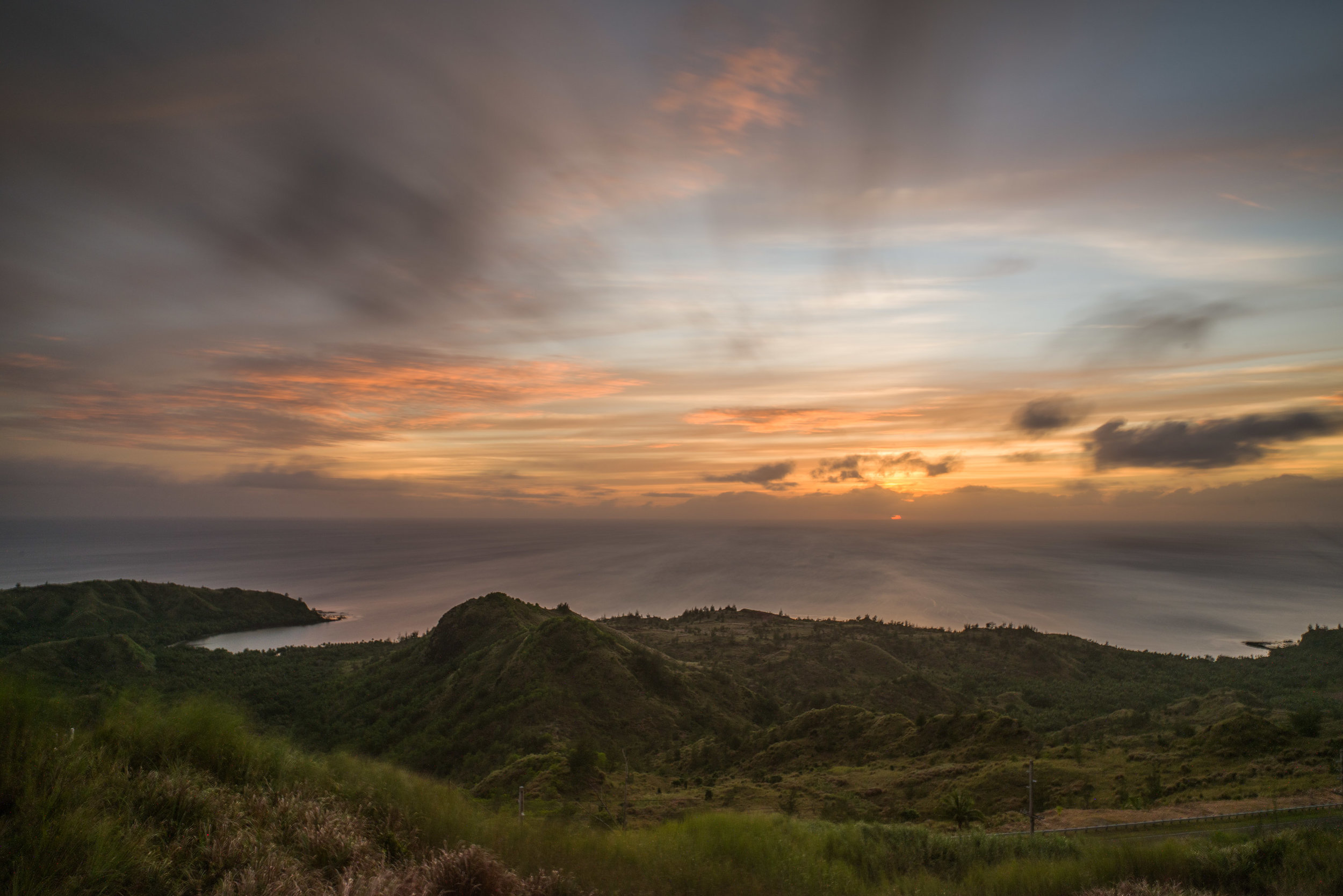 View of Cetti Bay from Mt. Lam Lam, Umatac