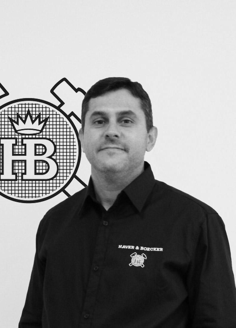 Edson Palorca, Sales Manager, Haver & Boecker