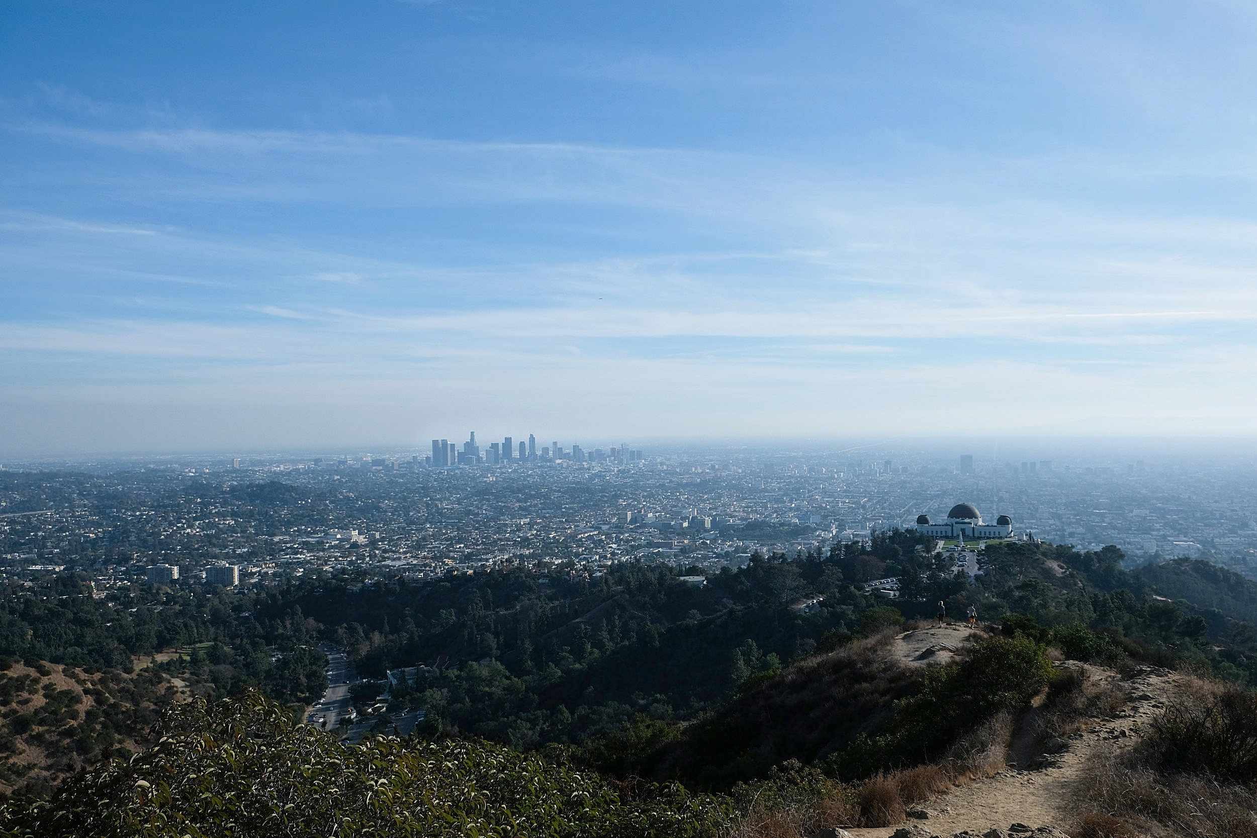 Griffith Park views