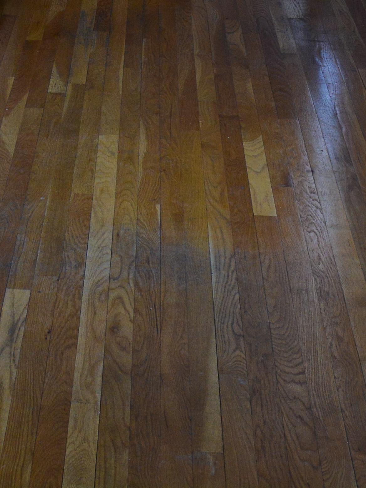 The floors had seen better days.