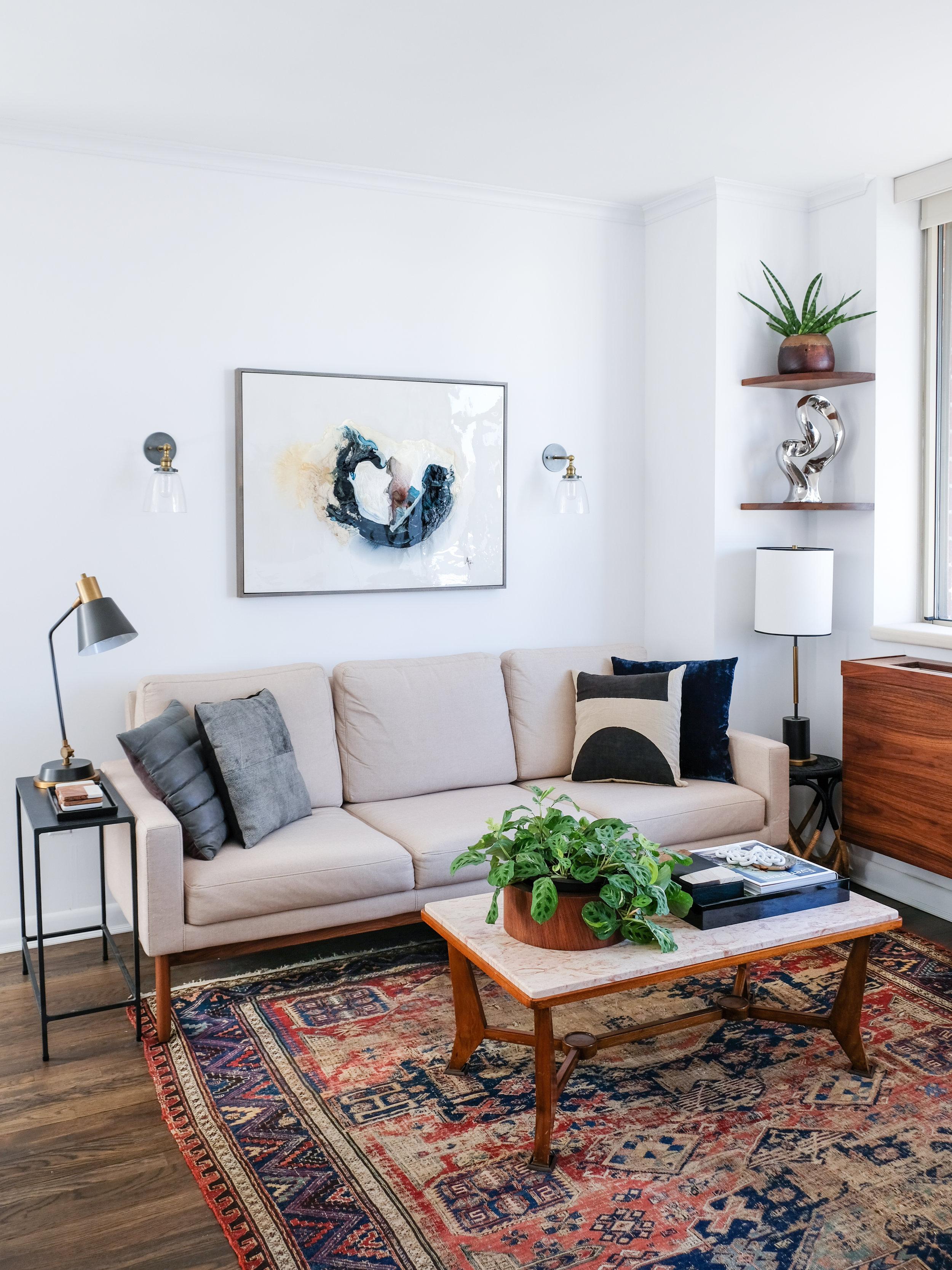 My favorite corner of the apartment.