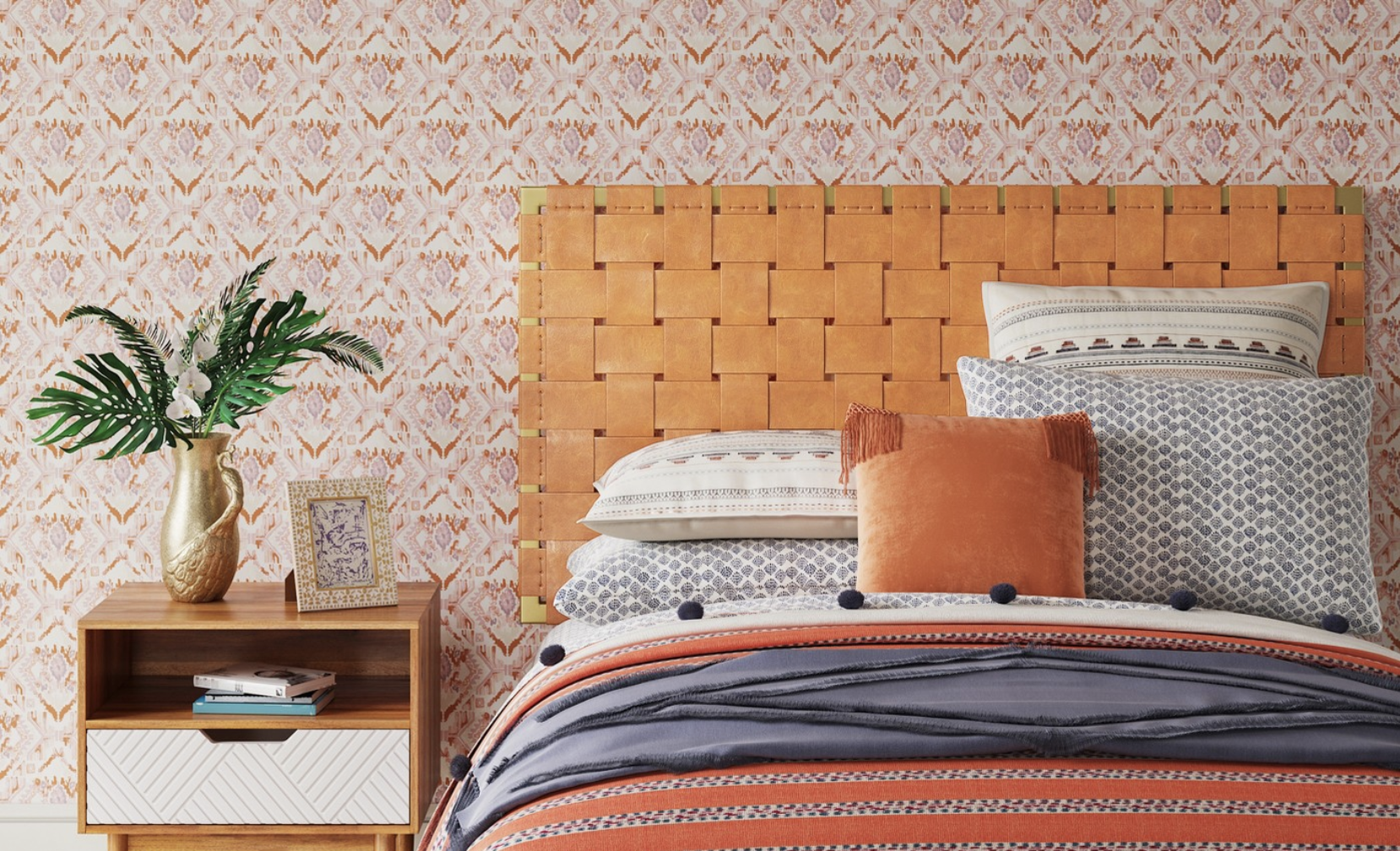 My first pick is  this headboard  from the Opalhouse collection.