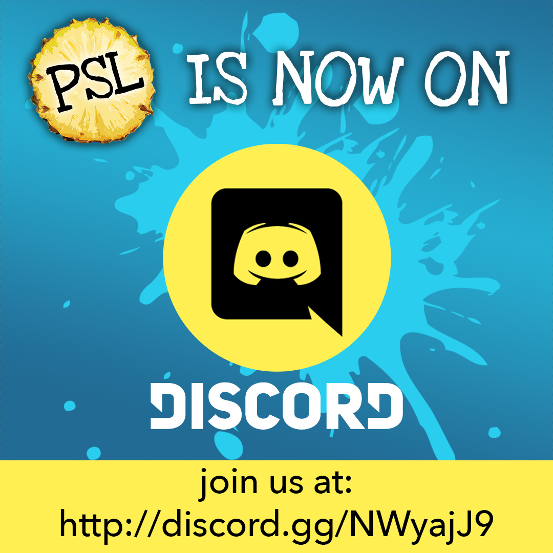 Talk to us on Discord! - Wanna keep up with anything and everything PSL? Well, it just got a whole lot easier! We've now got our own official PSL Comedy Discord, where you can get updates on our tour schedule, post photos, enjoy exclusive behind-the-scenes content, and just hang out and chat with PSL members and other fans! Just click this invite link to get started! Discord.gg/NWyajJ9