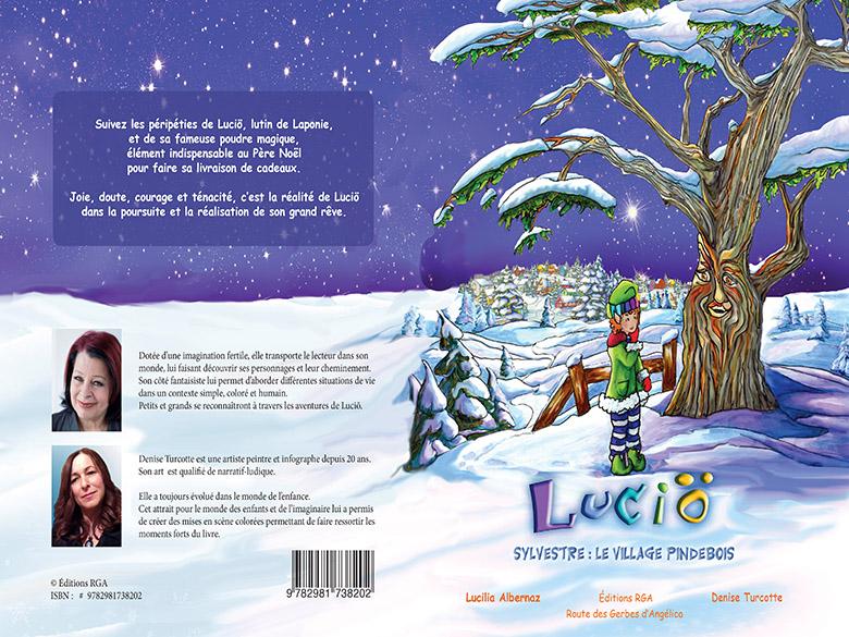 Premier tome des histoires de Lucio, dans une série de quatre livres.