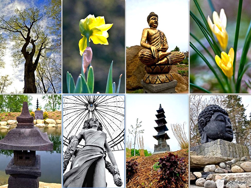 """Sculptures d""""artisans indonésiens"""