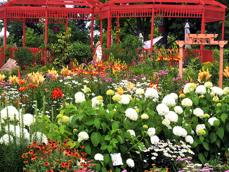 Le jardin campagnard