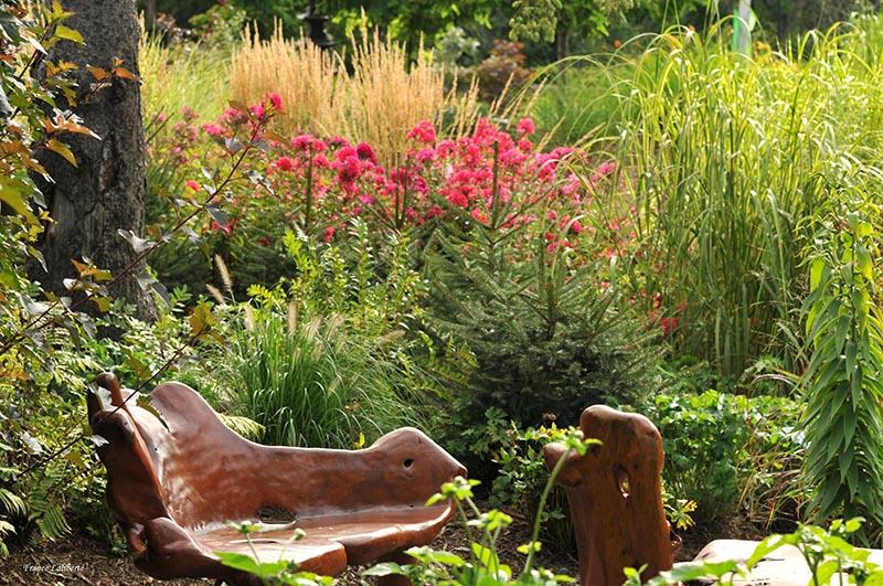 Jardin des graminées ou 'Filles du vent'