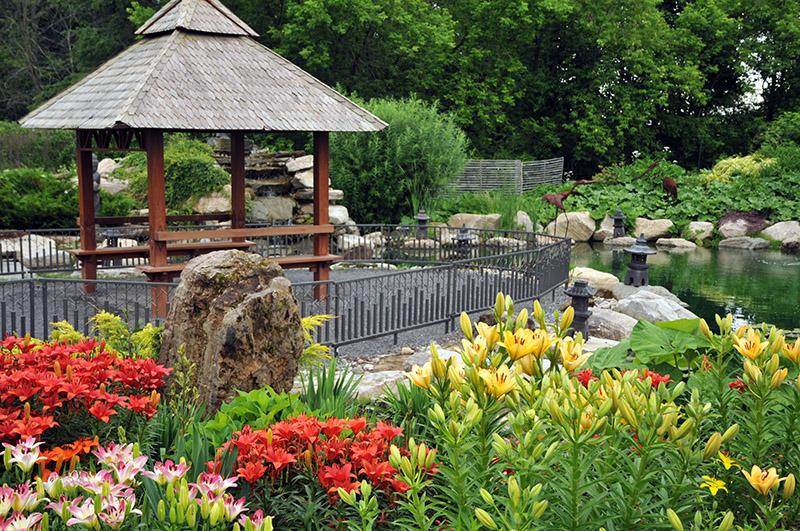 Pagode du jardin zen