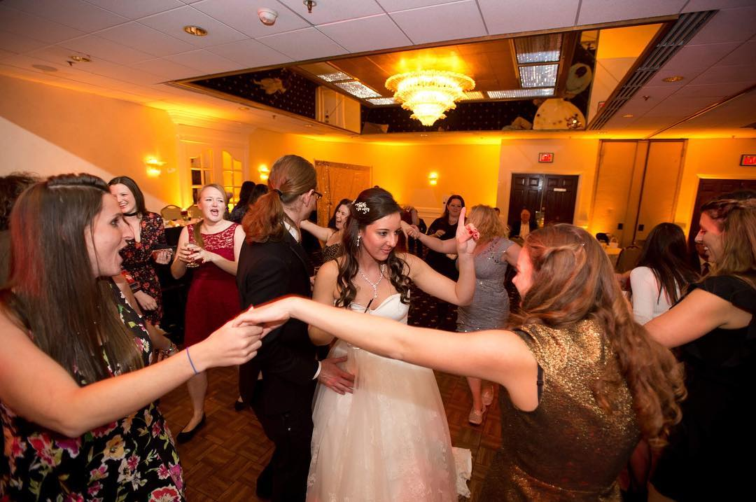 Nittany Entertainment Bride in Circle