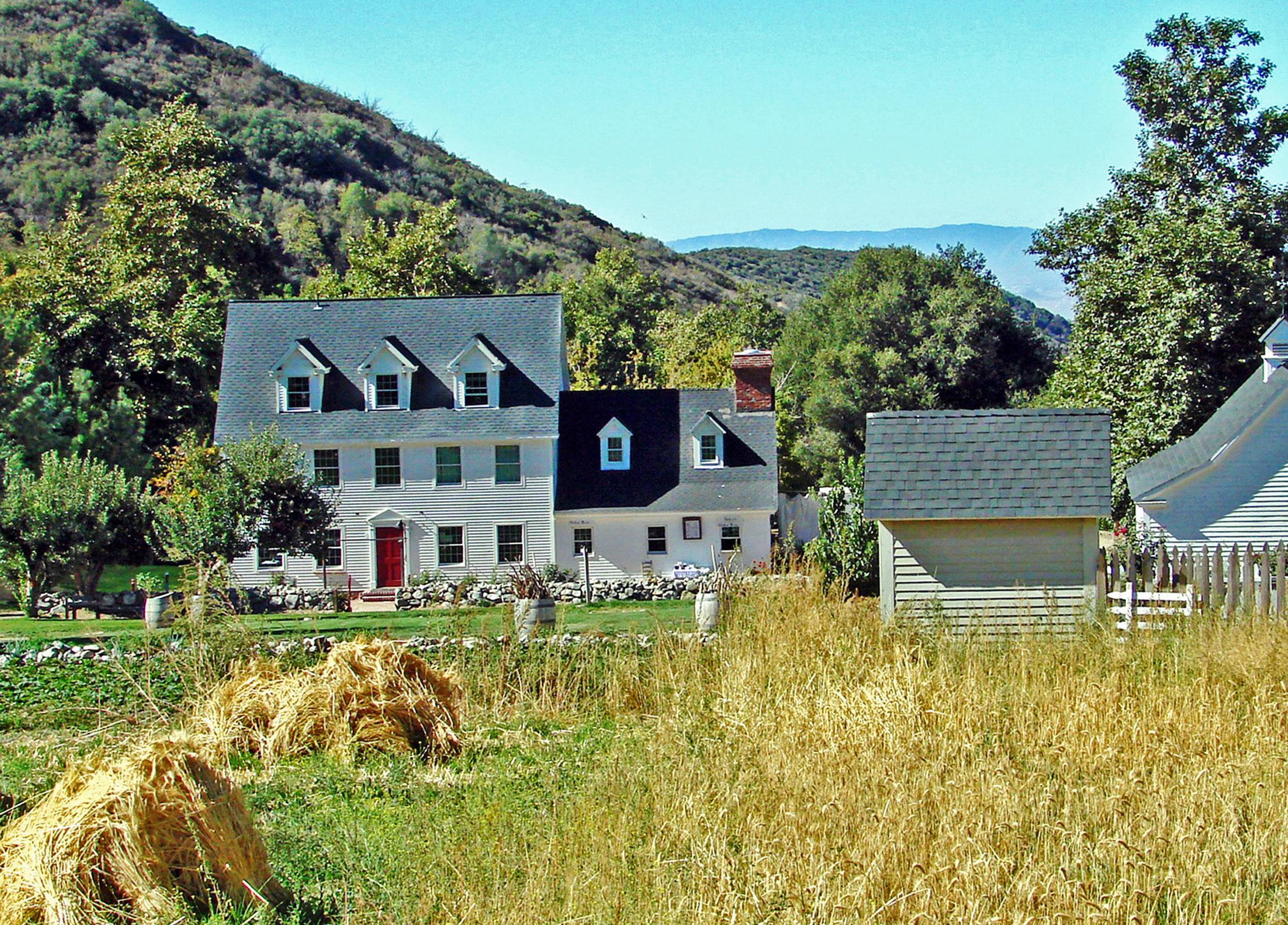 California Ranch House