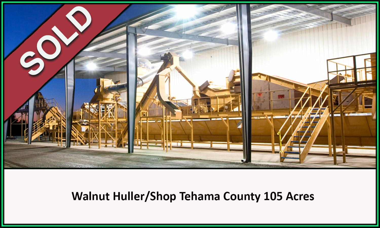 Walnut Dryer Huller Tehama County California