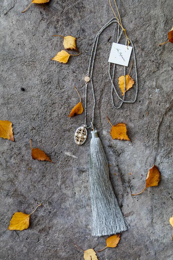 Pearls, Vermeil, Silver Necklace