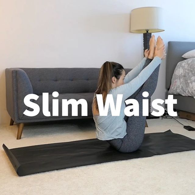 Those ab exercises you are doing may be making your waist appear larger.  Don't know what I mean by this?  Make sure you check out my IG stories where I explain this as well as my other tips for slimming down your waist!  If you follow my tips in my IG stories and perform these 5 exercises correctly, these exercises can and WILL help you tighten and slim down your waist.   Remember, quality over quantity!  Which muscle group do you think is your hardest area to target?  Comment below.  . . . . . #workingoutathome #workoutvideo #nogymnoproblem #strongcore #bejuststrong #attitudeiseverything #nogymnoproblem #nxg #noexcusegirl #workoutmode #womenworkout #womenworkouts #workoutsforwomen #exercisemotivation #tonedabs #workingonmyfitness #myfitnessjourney #gettinginshape #gettingfit #coreworkout #fitnesstips #lovepilates #homepilates #absexercises #exercise