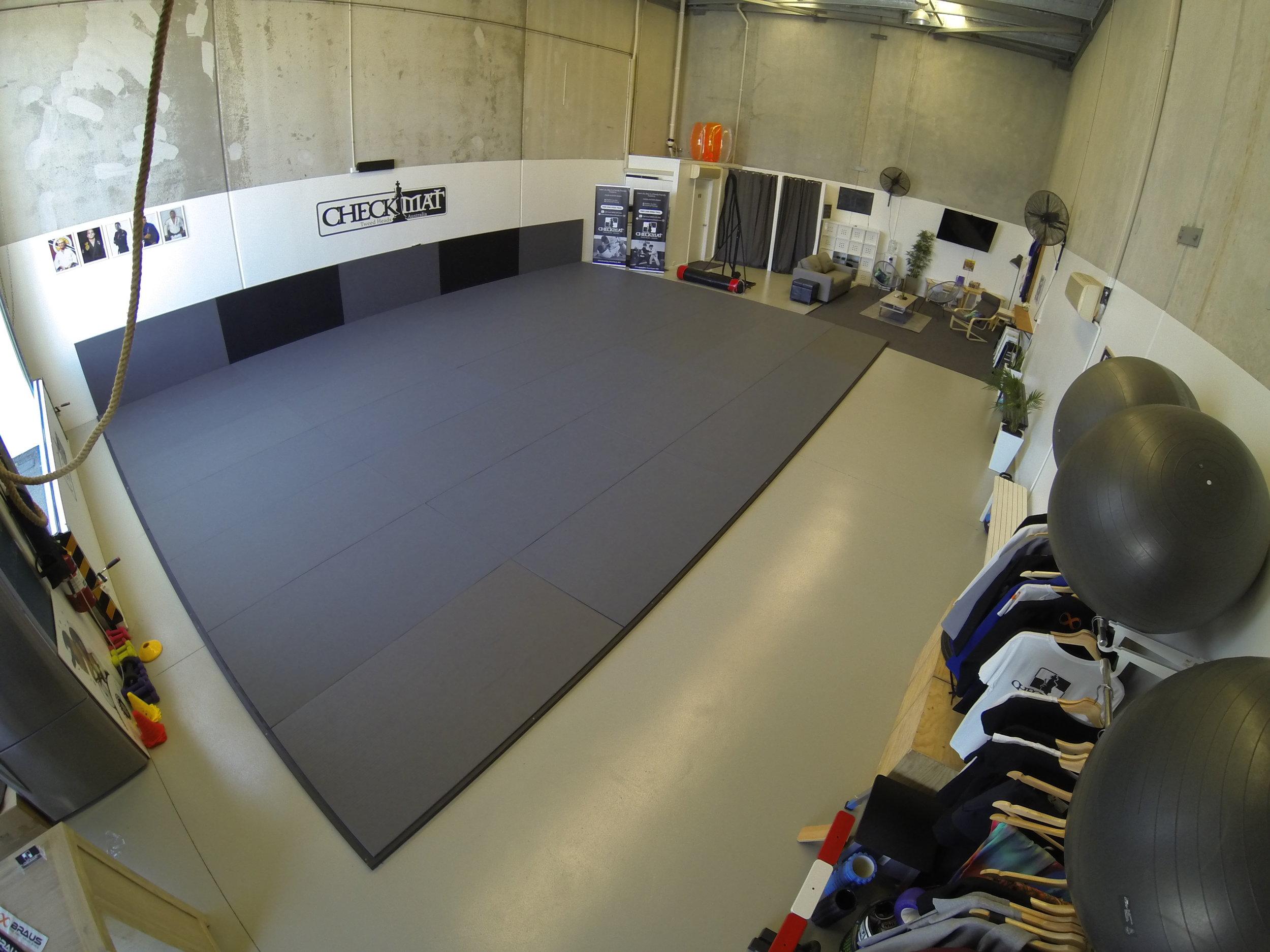 Checkmat Tweed Heads spacious jiu-jitsu academy