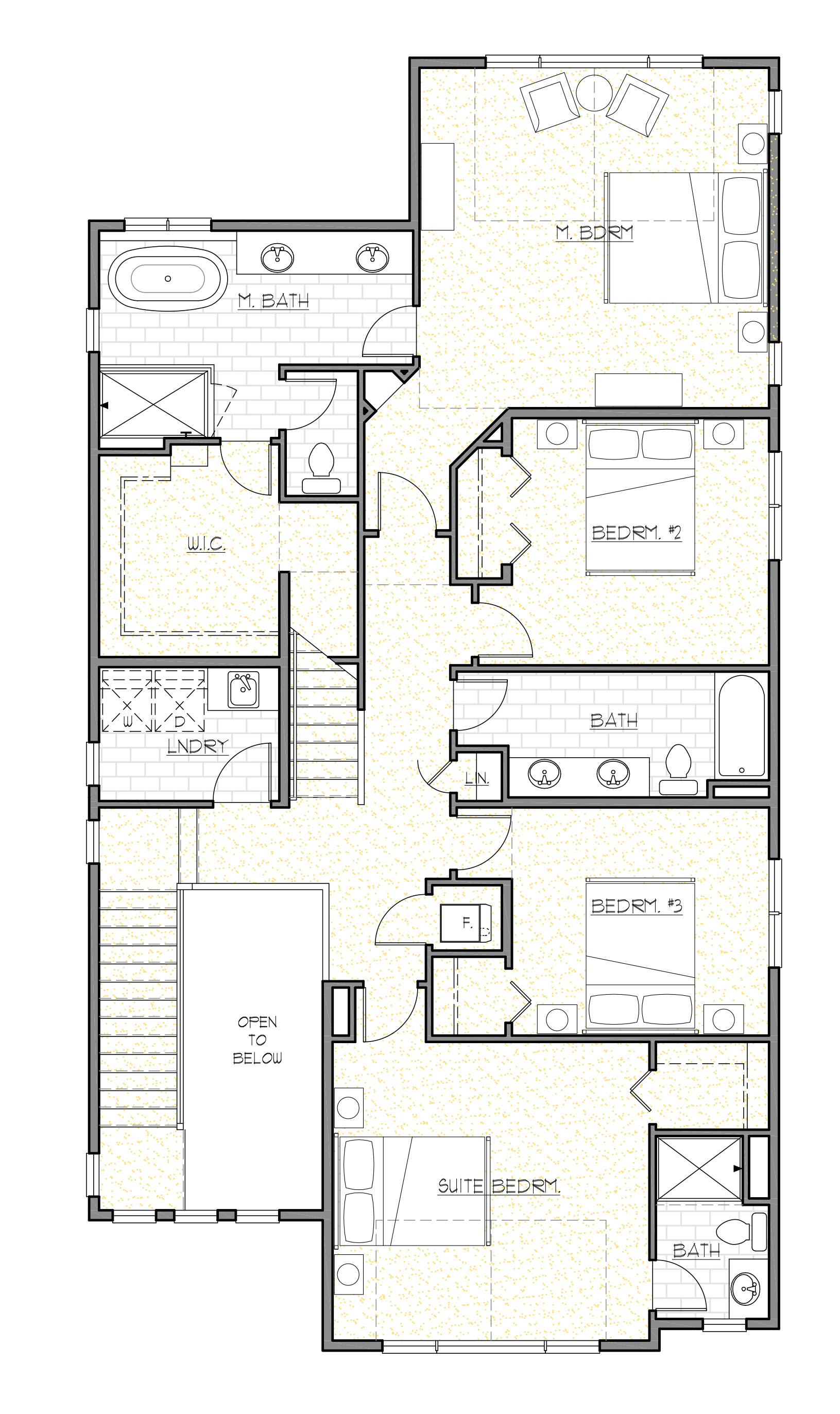 Copy of Upper Floor Plan