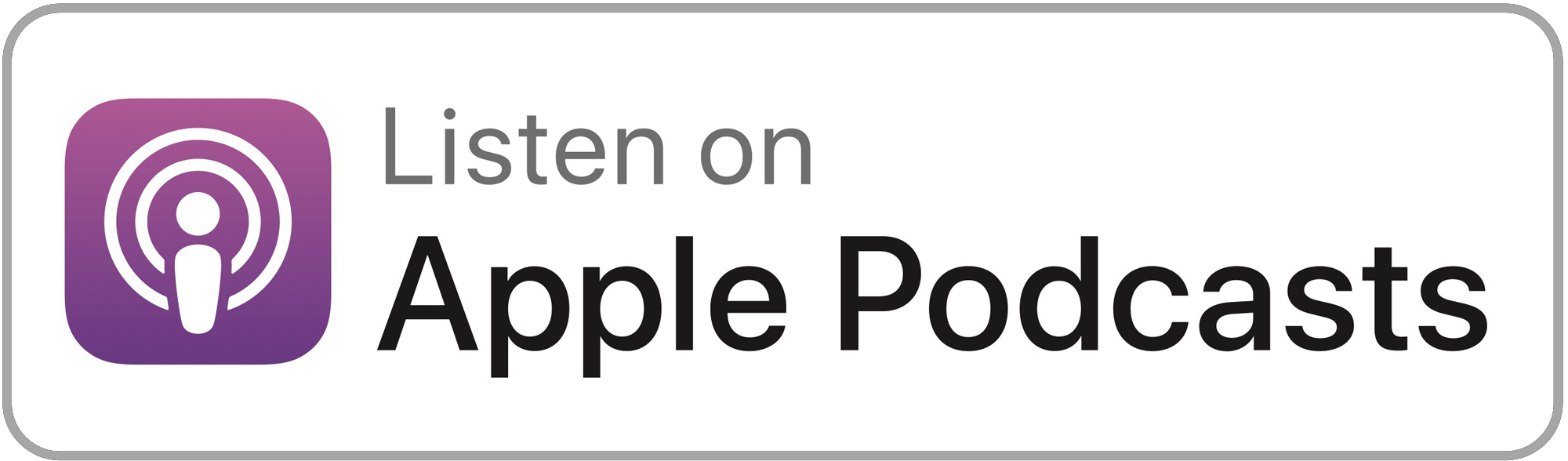 Listen on Apple Podcasts!