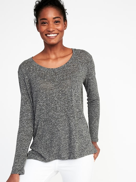 Nice neckline, mild enough of a pattern. © Old Navy