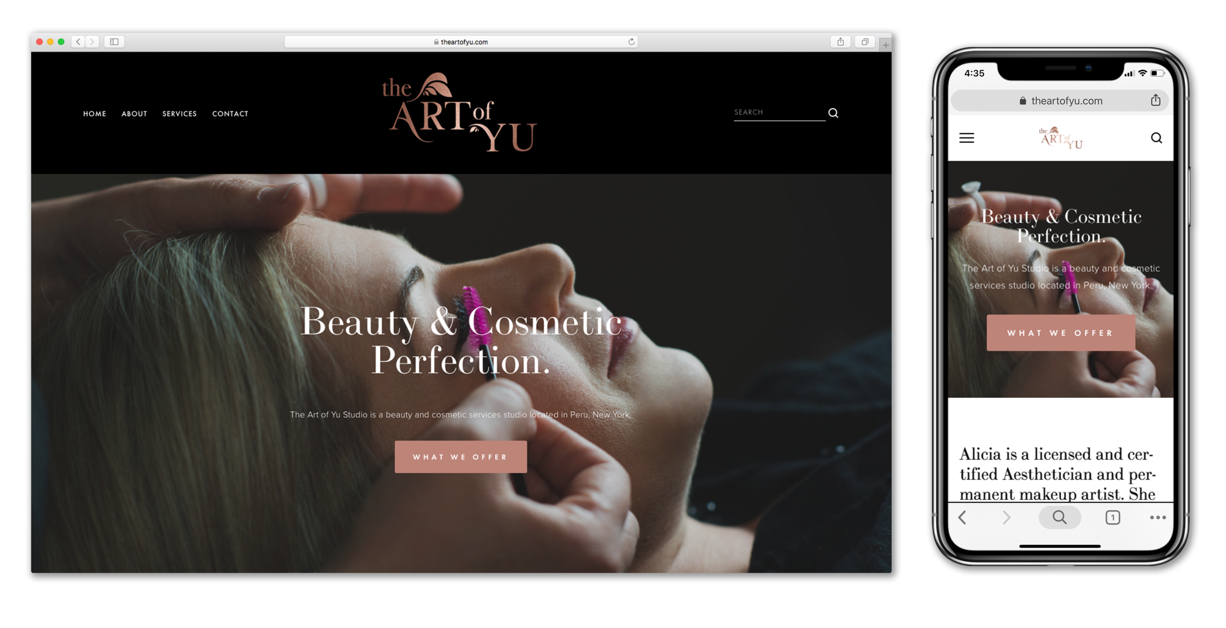The Art of Yu Website