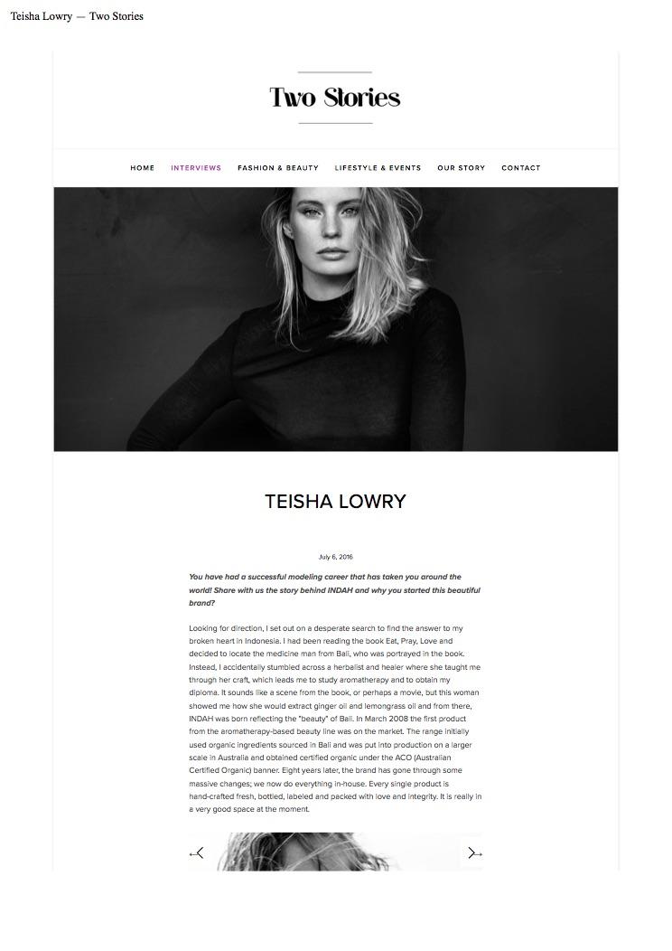 Teisha Lowry — Two Stories.jpg