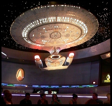 """Grand Opening of """" Star Trek :  The Experience ,""""the 1998 Theme Park attraction in Las Vegas, NV"""