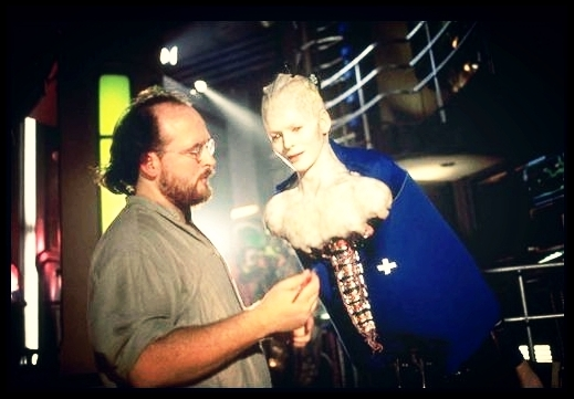 """Emmy Award-winning Todd Masters /MASTERSFX &"""" Star Trek: First Contact """" in Hollywood, CA 1996"""
