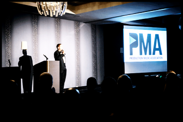 Launching  The Production Music Association  and its annual  P.M.A. Conference , 2014