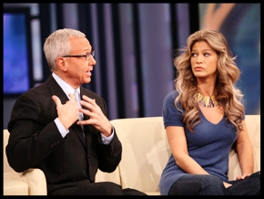 """Generating Talent bookings for Amber Smith, Supermodel, including her appearance on """" Oprah ,"""" with Dr. Drew, 2009"""