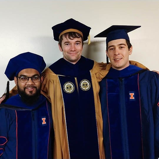 Introducing Dr. Mohammad Zahid (left) and Dr. Luke Smith (right)!