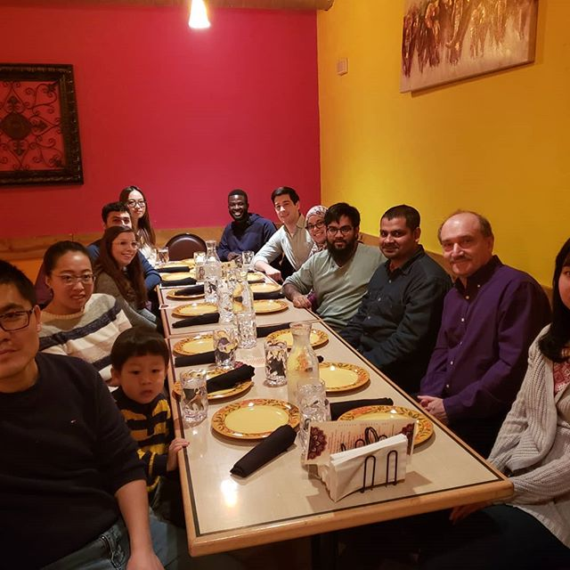 Wishing Dr. Mohammad Zahid best of luck as he embarks on a new adventure!