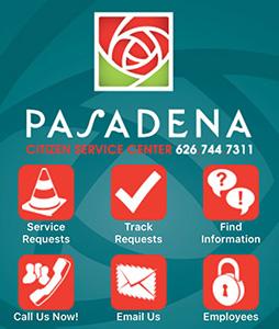 Pasadena Citizen Service Center Phone App