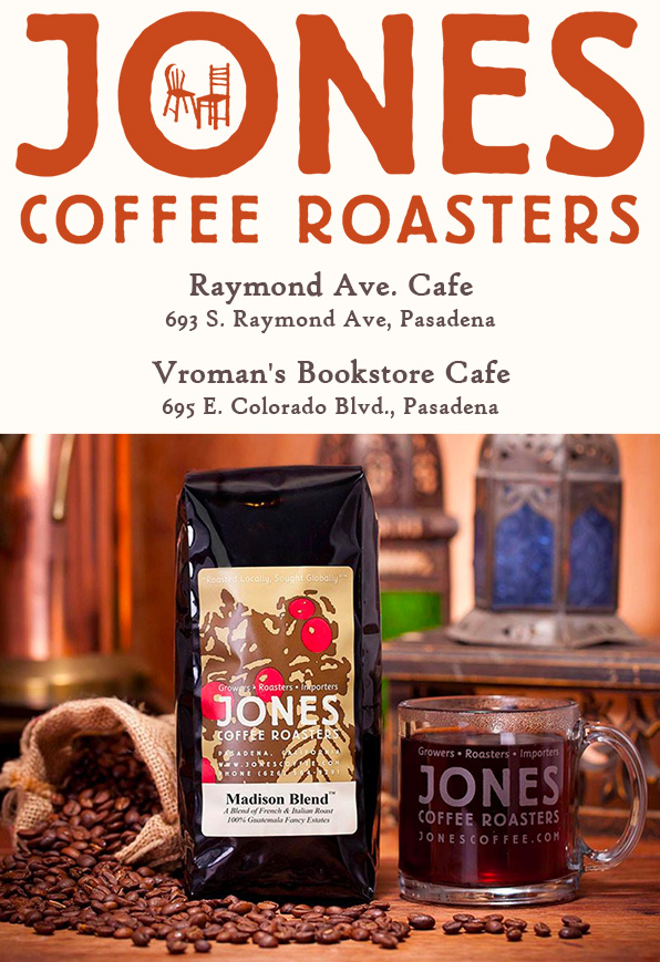 The source of  the best coffee:     Jones Coffee Roasters   !
