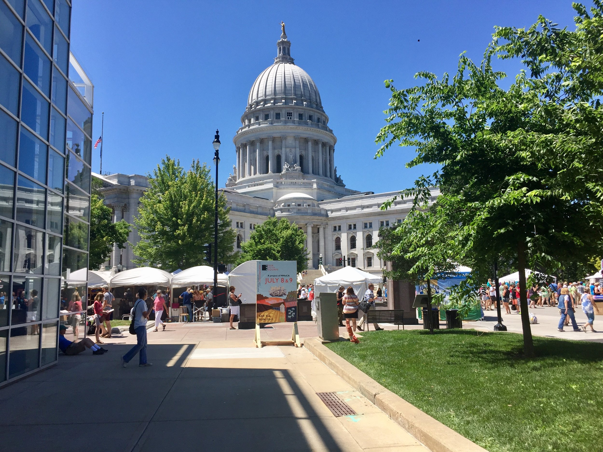 Art Fair on the Square, Madison, WI