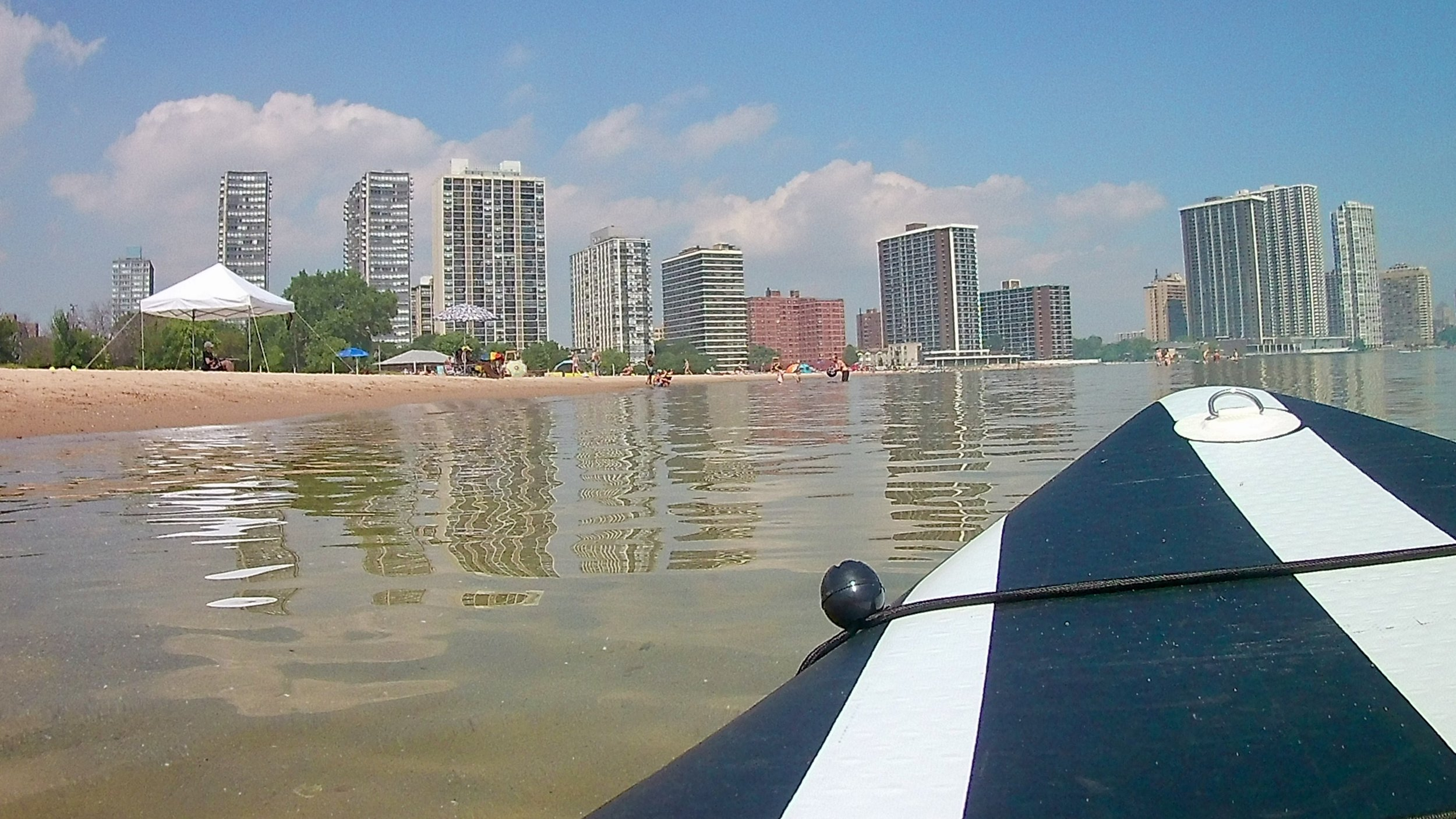 Paddle Board View, Osterman Beach