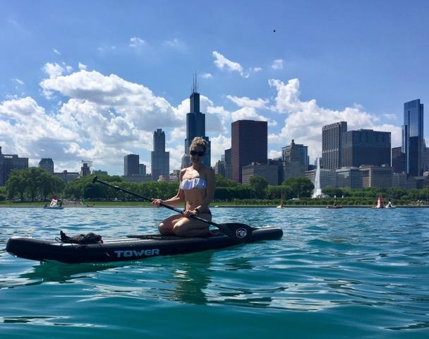 Anchored in Monroe Harbor, Chicago, IL