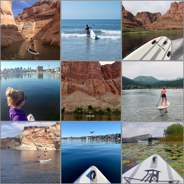 Top nine SUP travel pictures