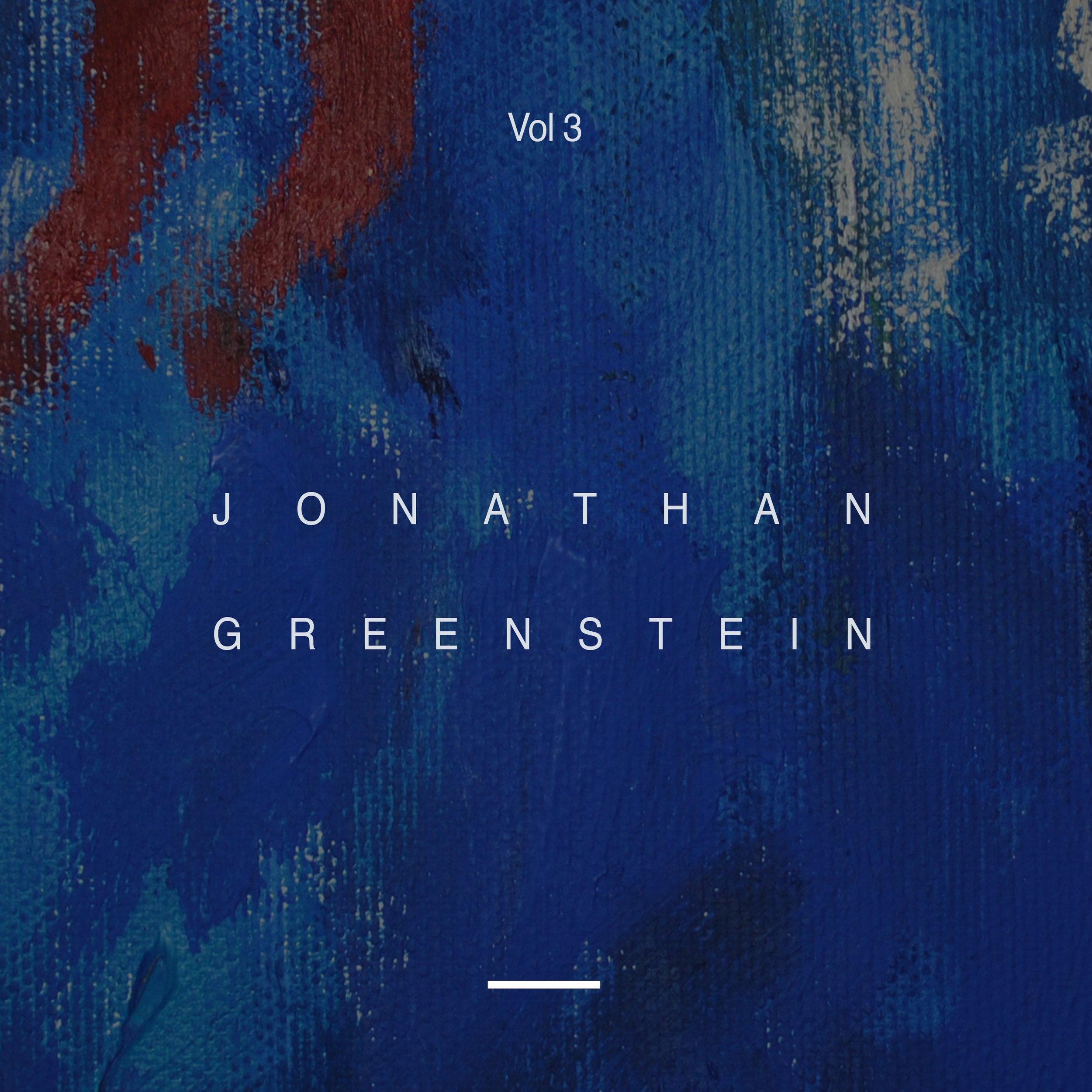 Jonathan Greenstein - Vol 3