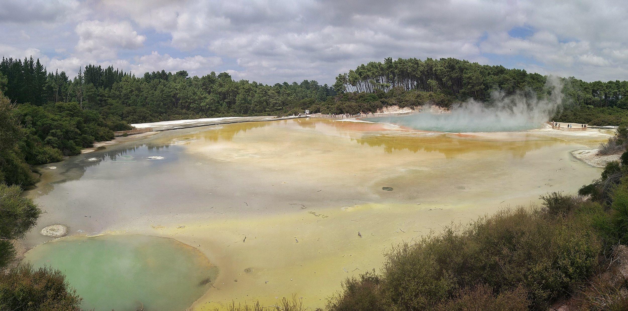 Wai o tapu Thermal Wonderland Rotorua