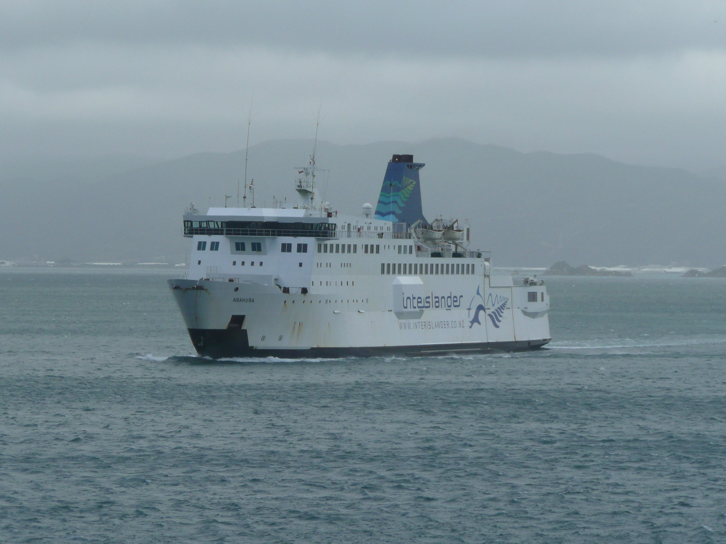 Interislander or Bluebridge...whichever floats your boat