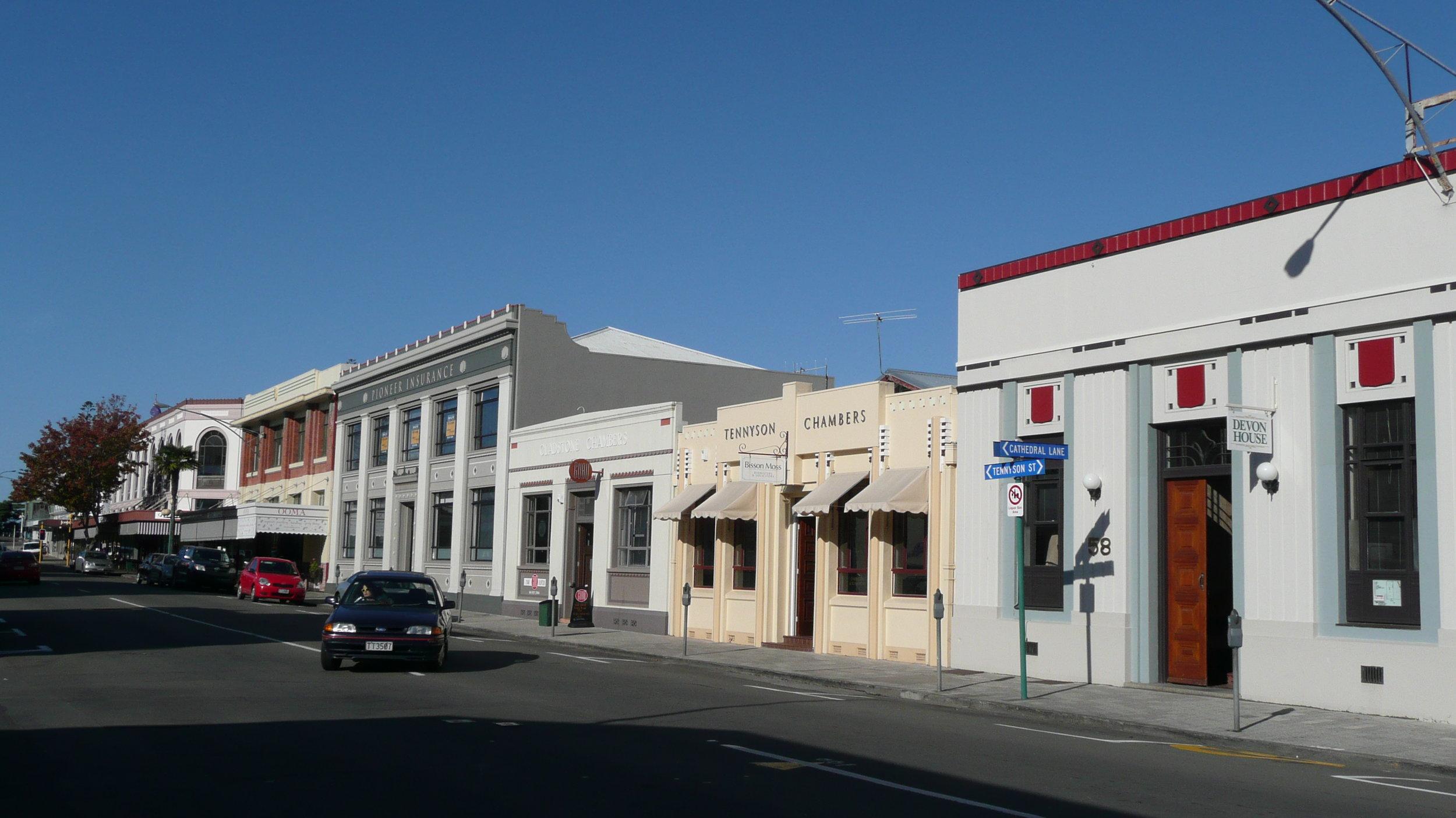 Art Deco town Napier
