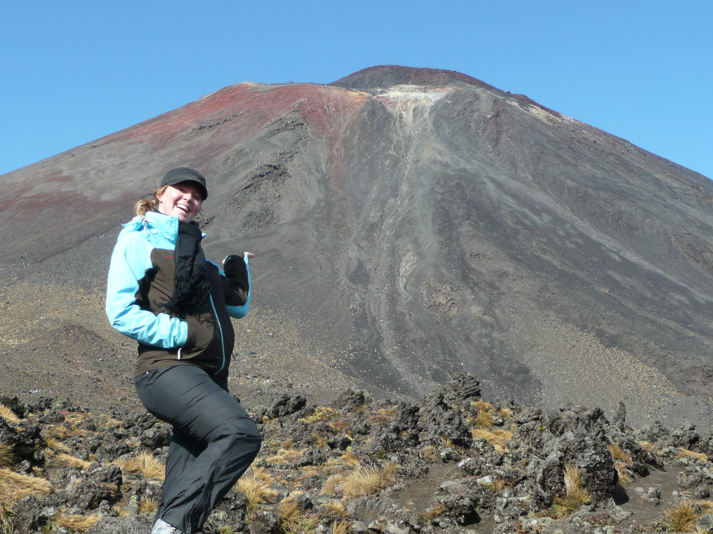 Hiking Tongariro crossing in 2010…