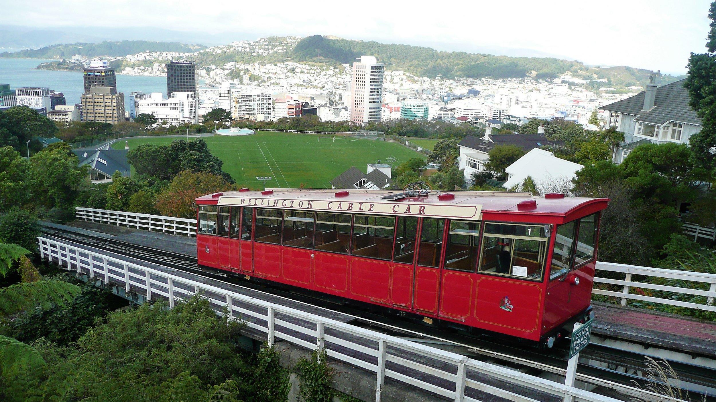 famous View over Wellington